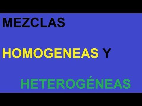Qué Es Una Mezcla Tipos De Mezclas Mezcla Homogenea Y Mezcla Heterogénea Metodos De Separacion De Mezclas Explicación Science Activities Science Activities