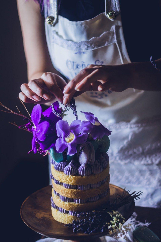 Recipe for chocolate lavender cake
