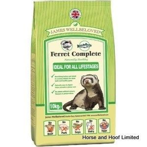 James Wellbeloved Complete Ferret Food 10kg Dog Food Recipes