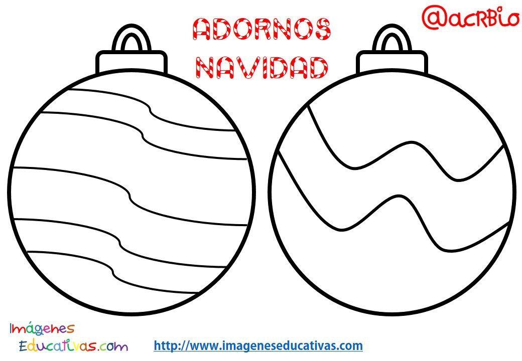 Bolas de navidad colorear 17  NAVIDAD  Pinterest  bolas de