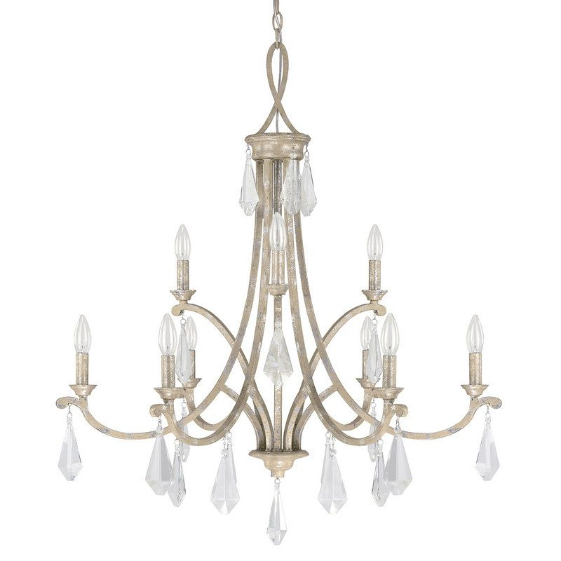 View the capital lighting 4499 000 the harlow collection 9 light 2 view the capital lighting 4499 000 the harlow collection 9 light 2 tier candle style chandelier at lightingdirect aloadofball Gallery