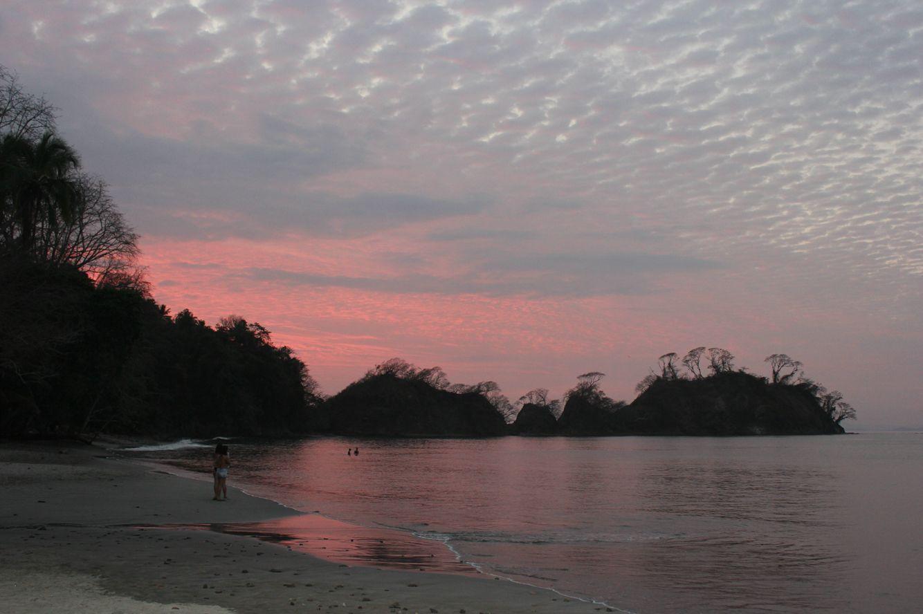 Sunset at Playa Mantas - Costa Rica