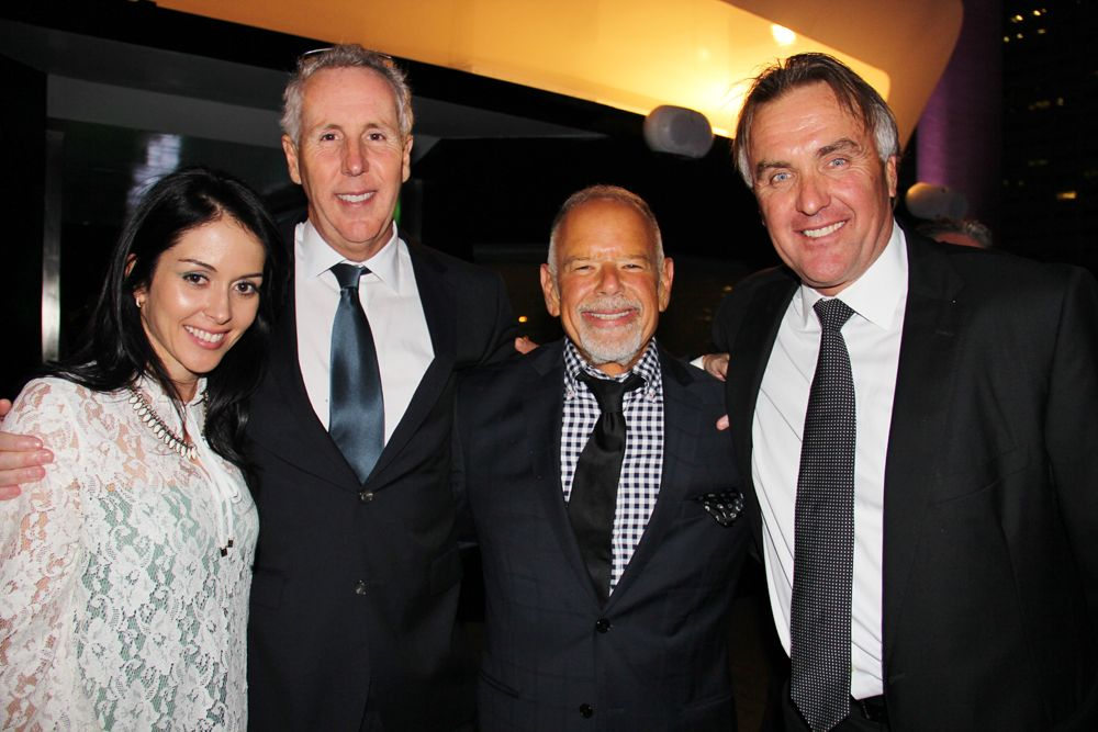 Echo Brickell Launches With Spectacular Event On Board The Seafair. | MetroCitizen Magazine. Karine Carvalho, Kevin Maloney, Philip Spiegelman, Craig Studnicky.