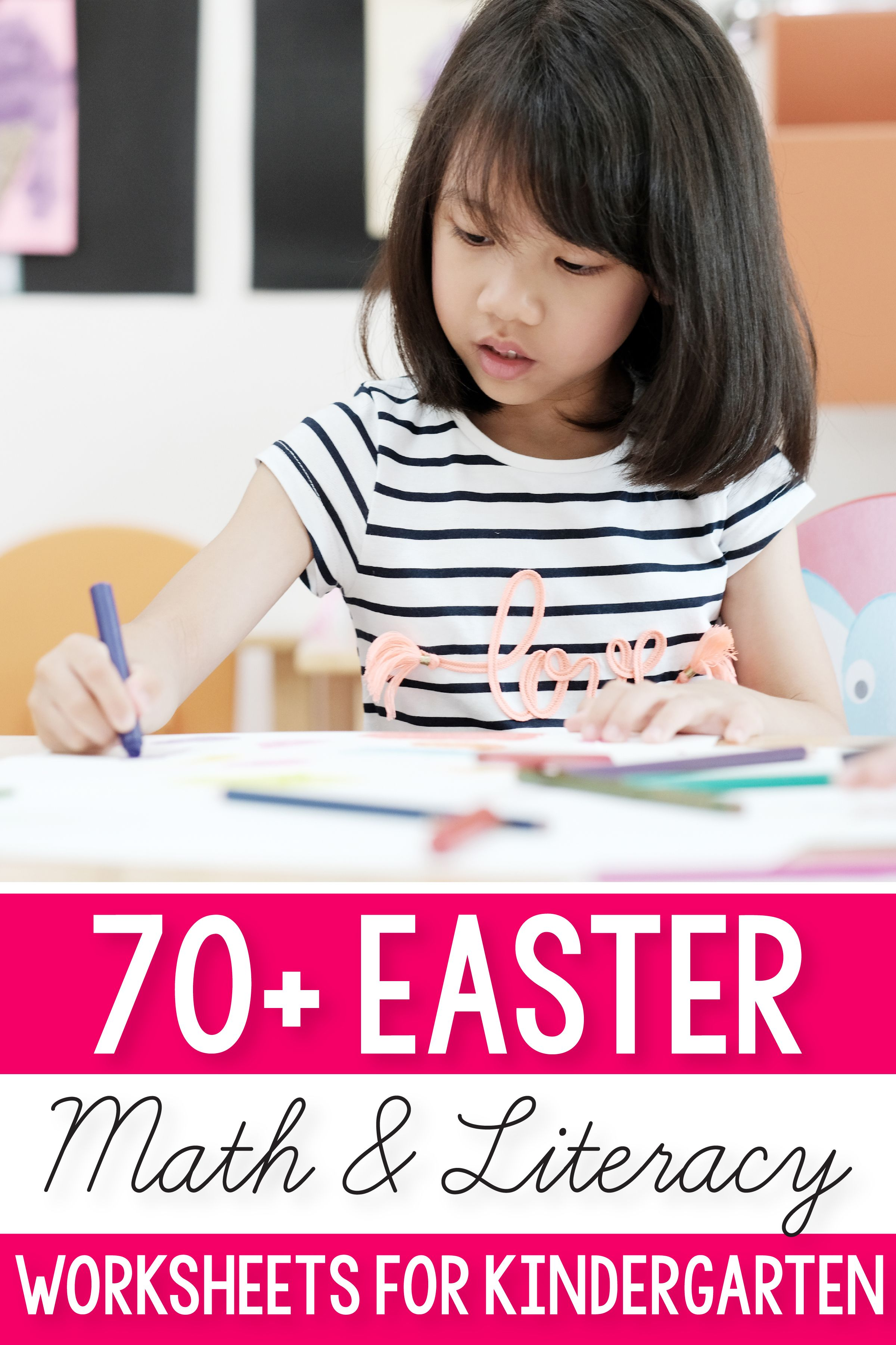 Easter Math Amp Literacy Activities And Worksheets For
