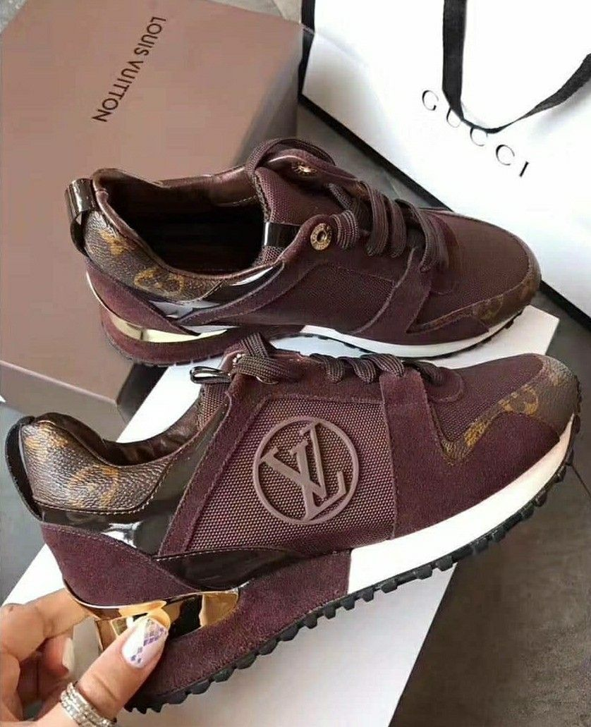 LV burgundy -  tenis  mujer  shoes   Ladies Shoes   Pinterest ... 949de0b7fd5