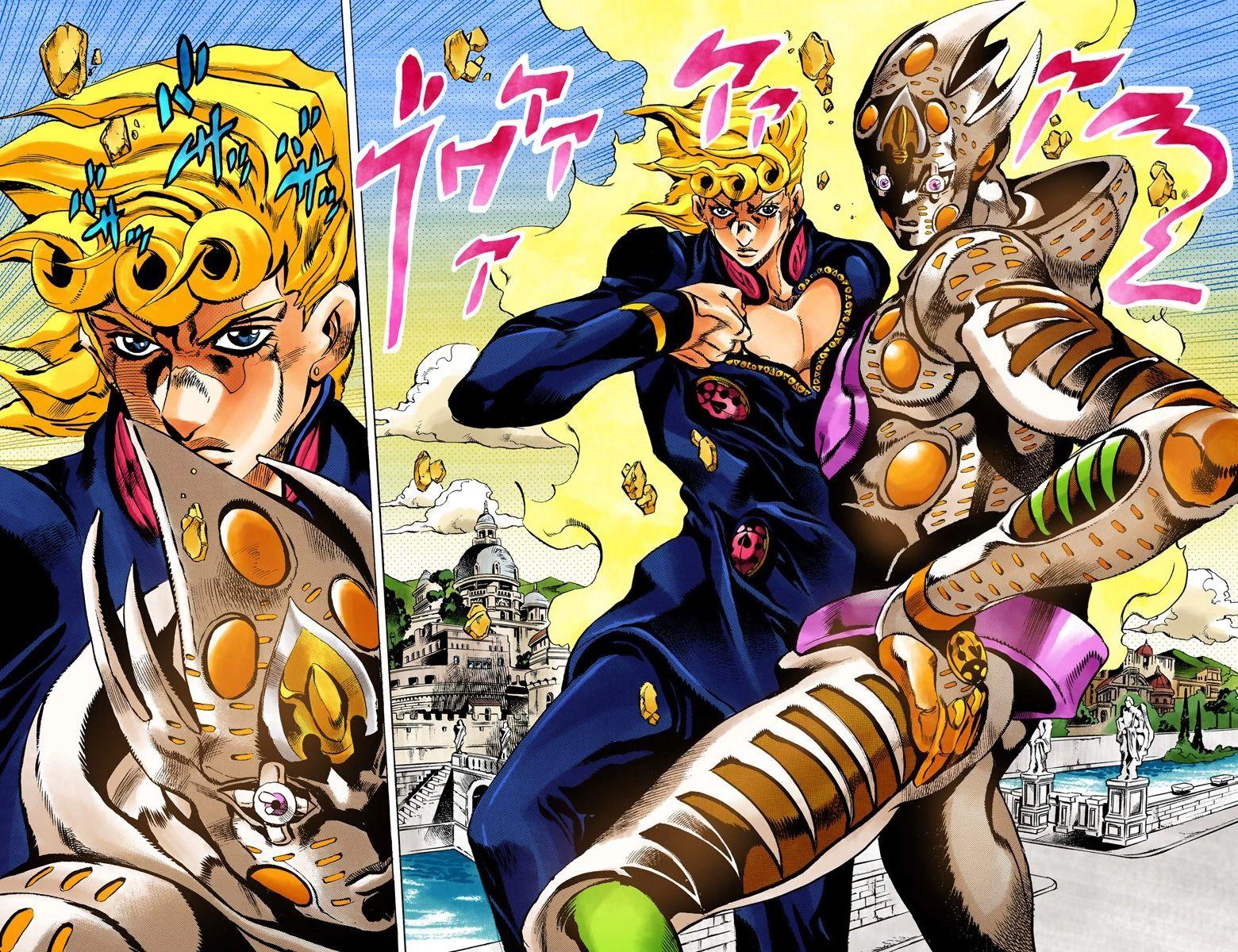 Jojo Part 5 Manga Colored Online Chapter 1