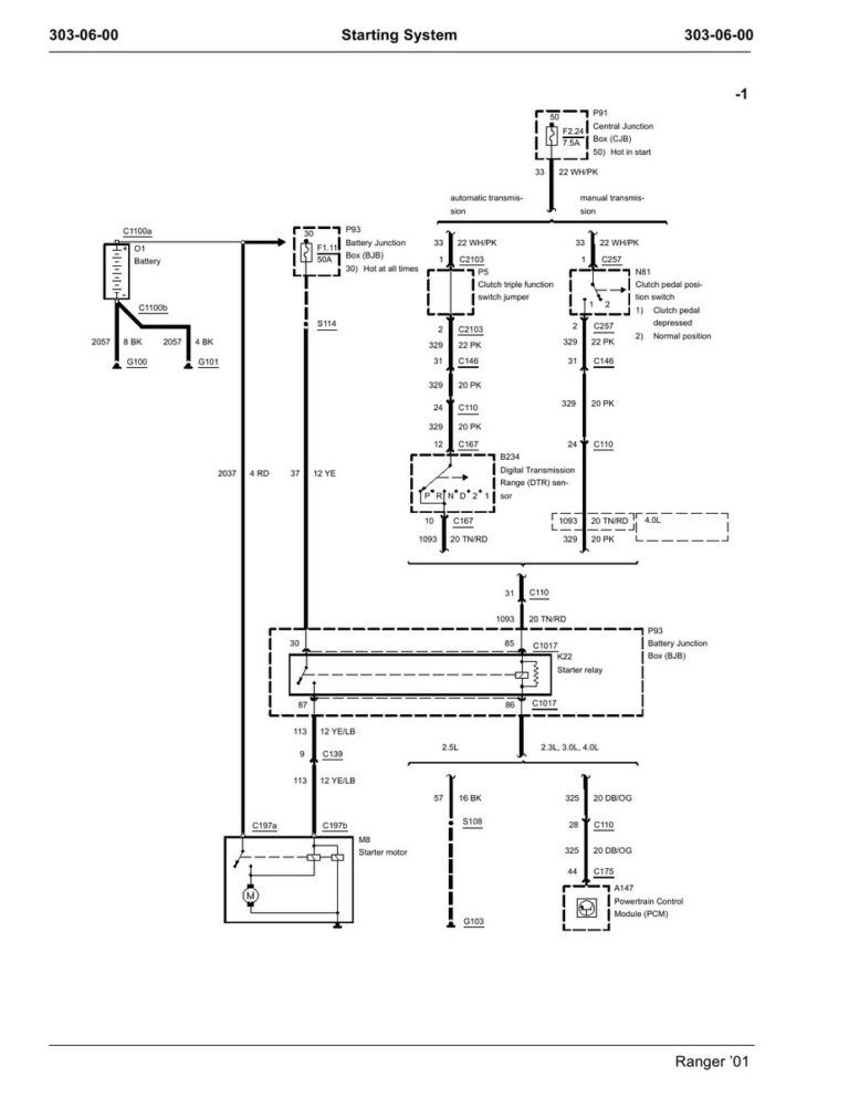 Wiring Diagram Remote Starter Solenoid And Ford