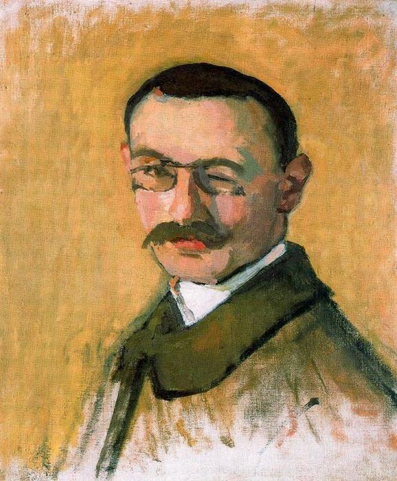 """""""Autoretrato"""", d'Albert Marquet (French, 1875-1947)"""