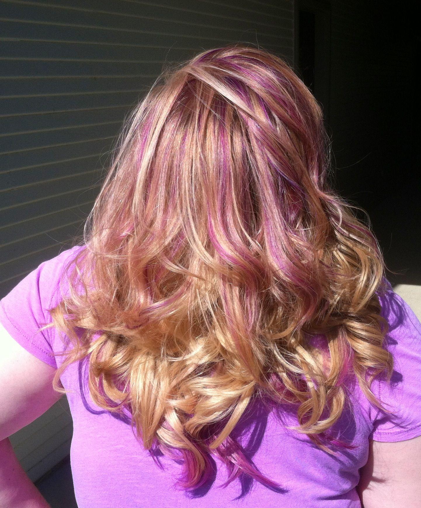 Pin By Sarrenna Mcnulty On Redheads Pinterest Hair Purple