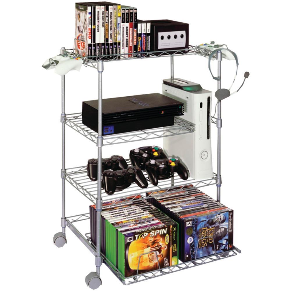 Gamekeeper 45506019 4Tier Wire Gaming Tower Game