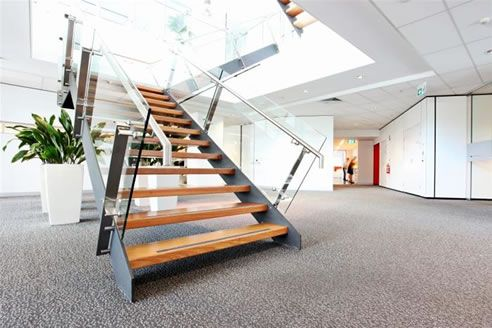 Commercial Stair Design Stairs Pinned By