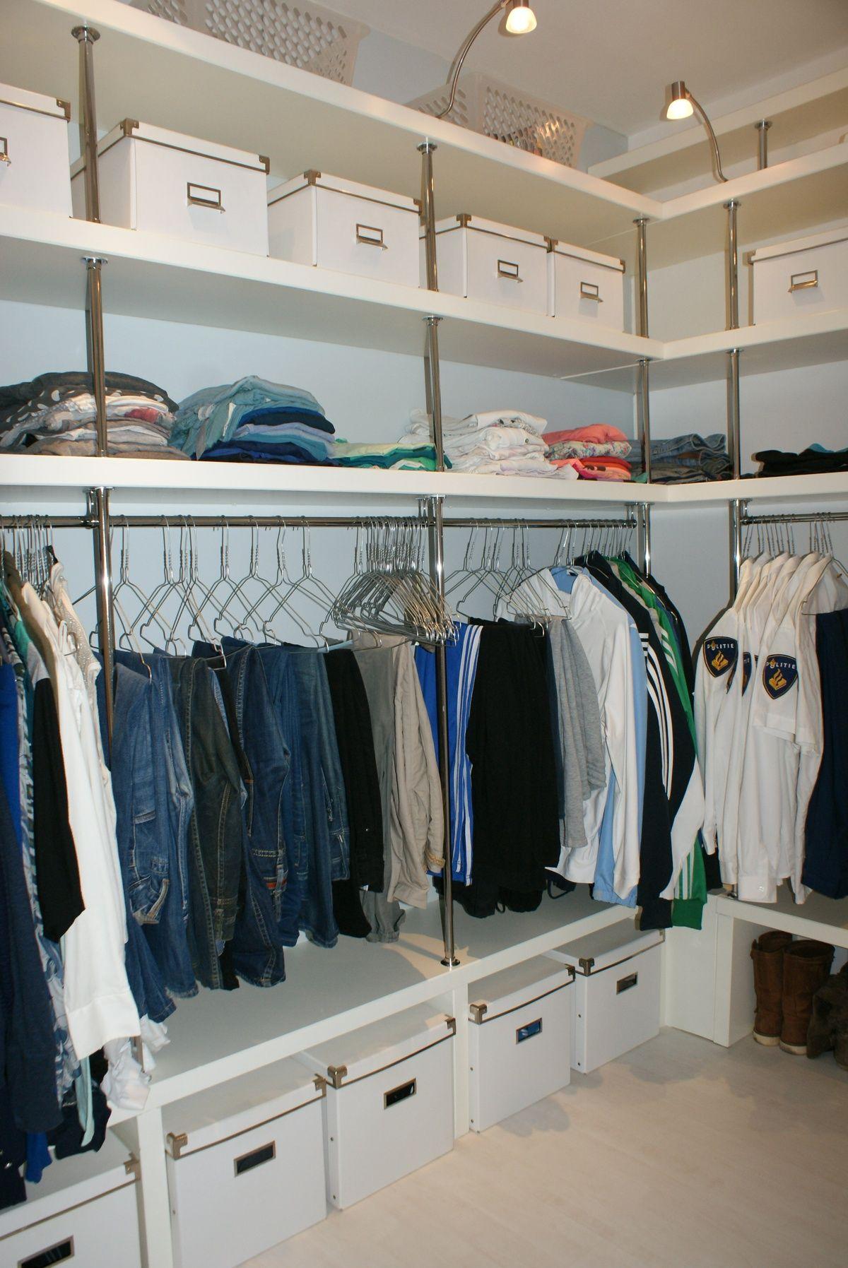 Pin by paula beard on house | Dressing room closet, Closet ...