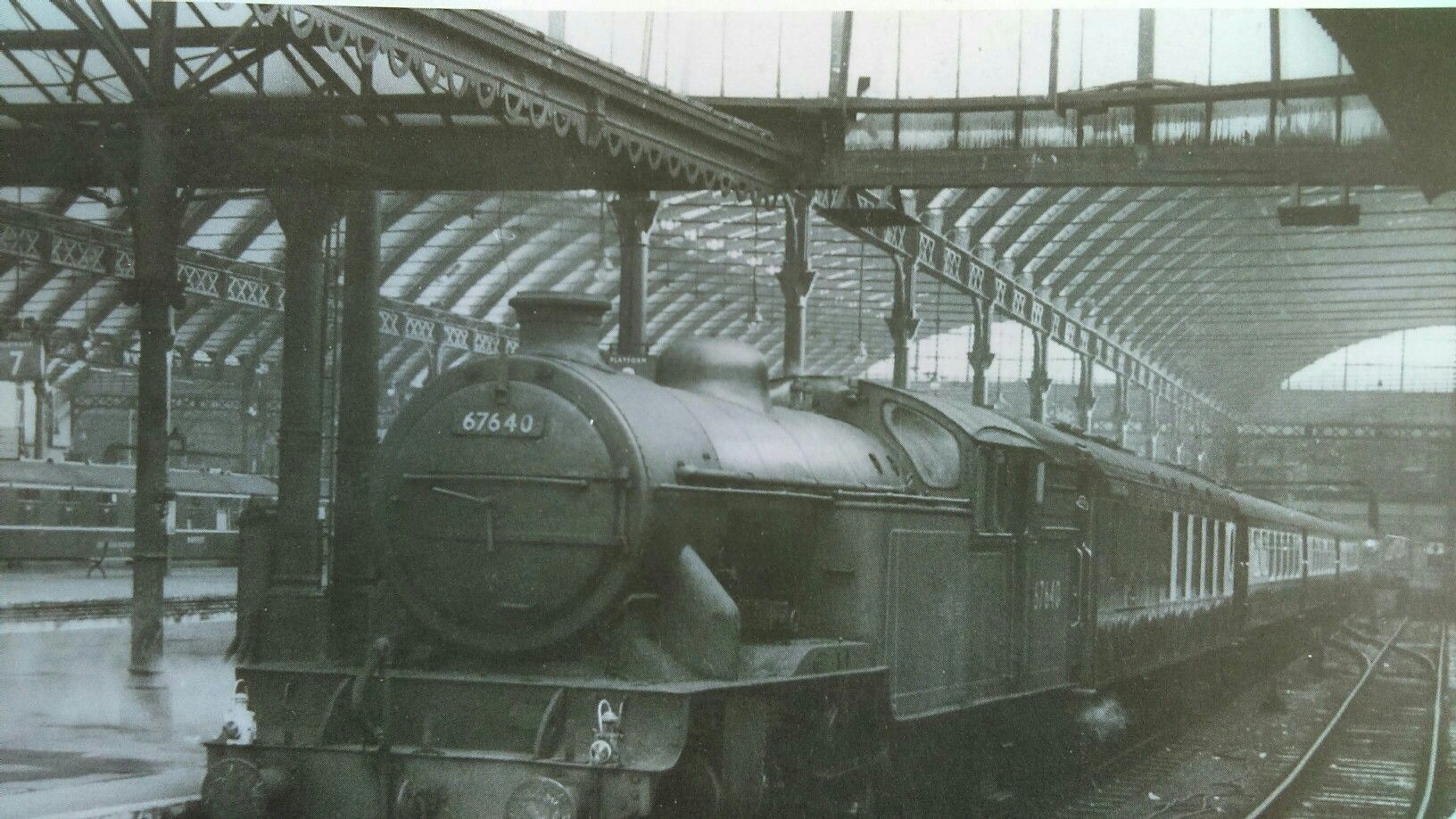Hull Paragon Station Hull England Steam Railway Kingston Upon Hull
