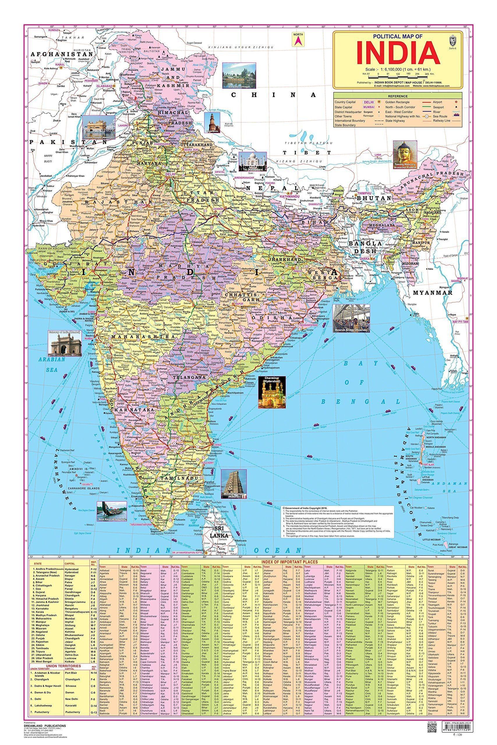 India Map Hd Pdf Download Map India Ka Map India River Map A4 Size Pdf Telangana Political Map 31 Districts Names India Map India World Map World Geography Map