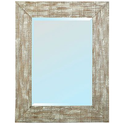 View Sanibel Shores Wood Frame Mirror Deals At Big Lots Wood Framed Mirror Nautical Bathrooms Wood Frame