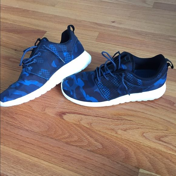 Men's Nike Roshe Blue Camo | Blue camo