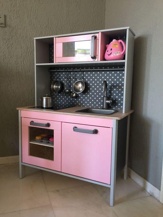 Duktig Ikea kinderkeuken pimpen - küchen ikea gebraucht