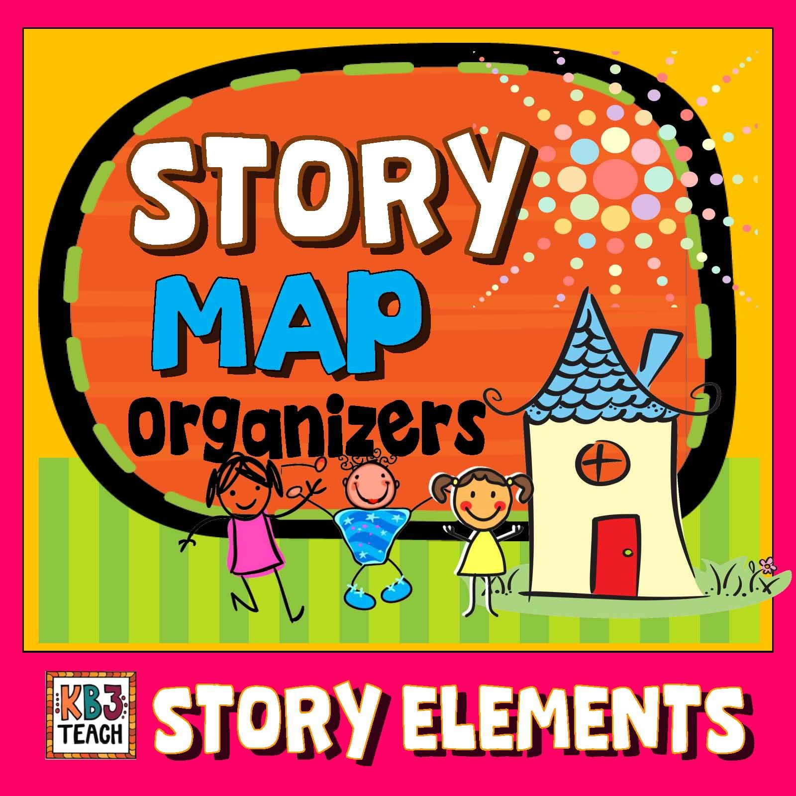Differentiated Story Map Organizers Story Elements