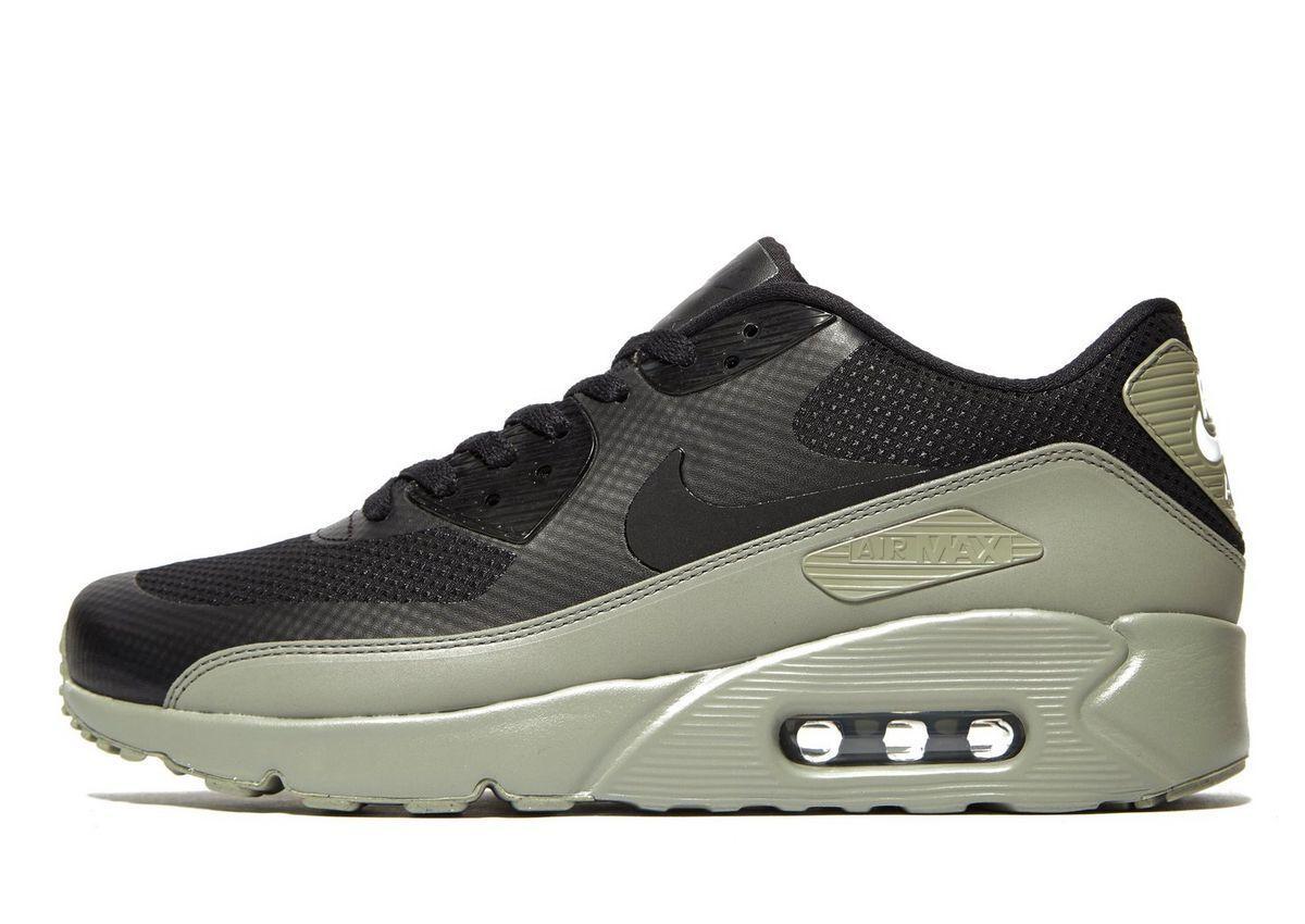 huge selection of 3ed37 730fa Nike Air Max 90 Ultra Essential JD Exclusive in Black Green - EU Kicks   Sneaker Magazine