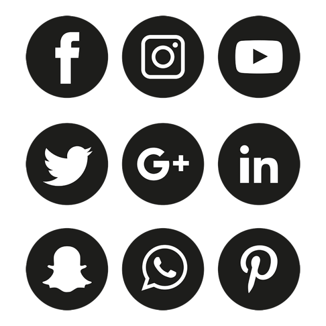 Social Media Icons Set Logo Vector Illustrator Free Logo