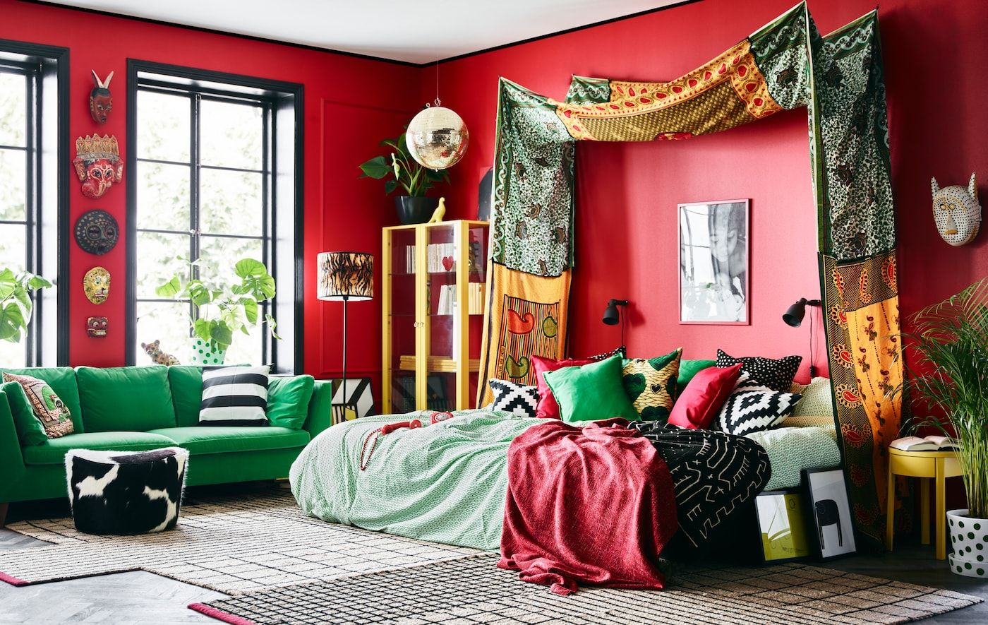 An Ikea Stylist S Dream Bedroom With Images Eclectic Bedroom Bedroom Setup Apartment Decor