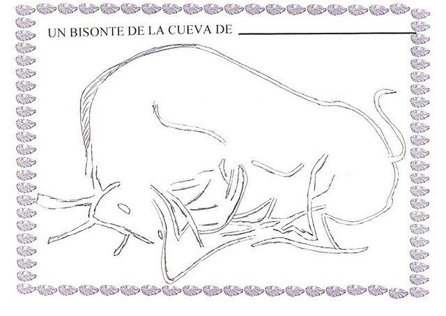 Resultado de imagen de BISONTE ALTAMIRA COLOREAR | ALTAMIRA ...