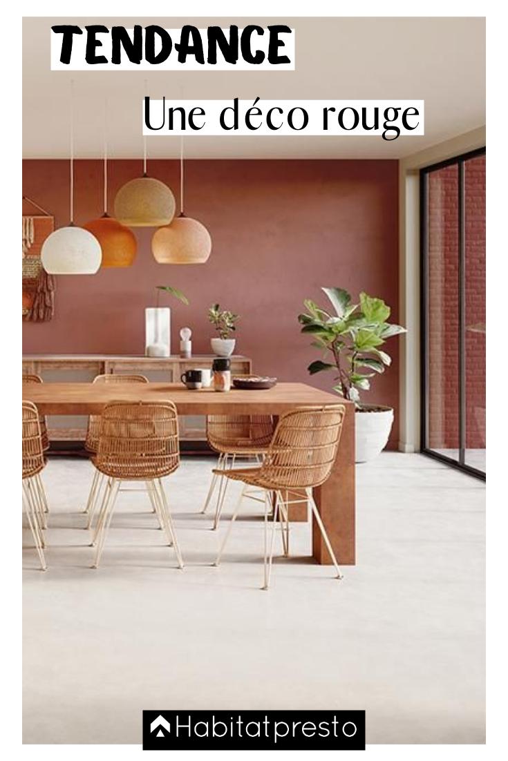 Idee Peinture Salon Cuisine déco rouge : 5 idées tendances pour un intérieur dynamique