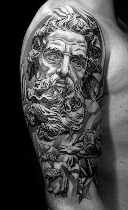 30 Socrates Tattoo Designs For Men Philosopher Ink Ideas