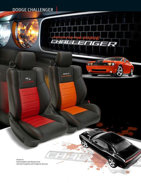Super Dodge Challenger Leather Seat Cover Leather Interior Gmtry Best Dining Table And Chair Ideas Images Gmtryco