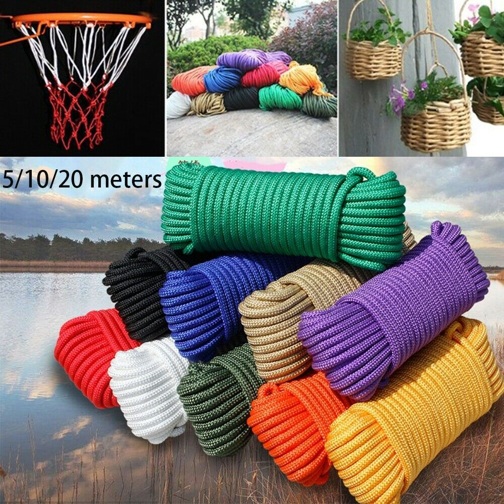 Diameter 3mm Paracord 550 Rope Survival Kit Lanyard Tent Ropes