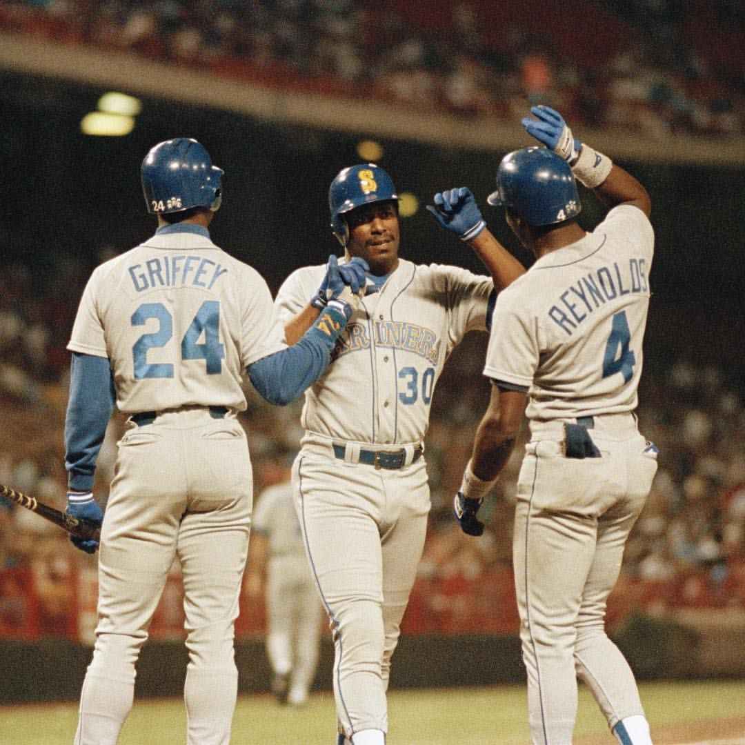 Sportscenter On Instagram 25 Years Ago Today Ken Griffey Jr And Ken Griffey Sr Made History By Becoming The Onl Ken Griffey Jr Ken Griffey Ken Griffey Sr