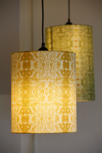Kassana Holden Of Bergamot Studios Custom Lamp Shades Custom Shades Custom Light Fixtures
