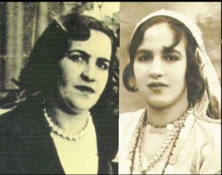 الشهيدة لالة يامنة الشايب المدعوة زليخة عدي إمرأة بألف رجل بورتري بصور حقيقية من مصدرها الأصلي Fashion Chain Necklace Necklace