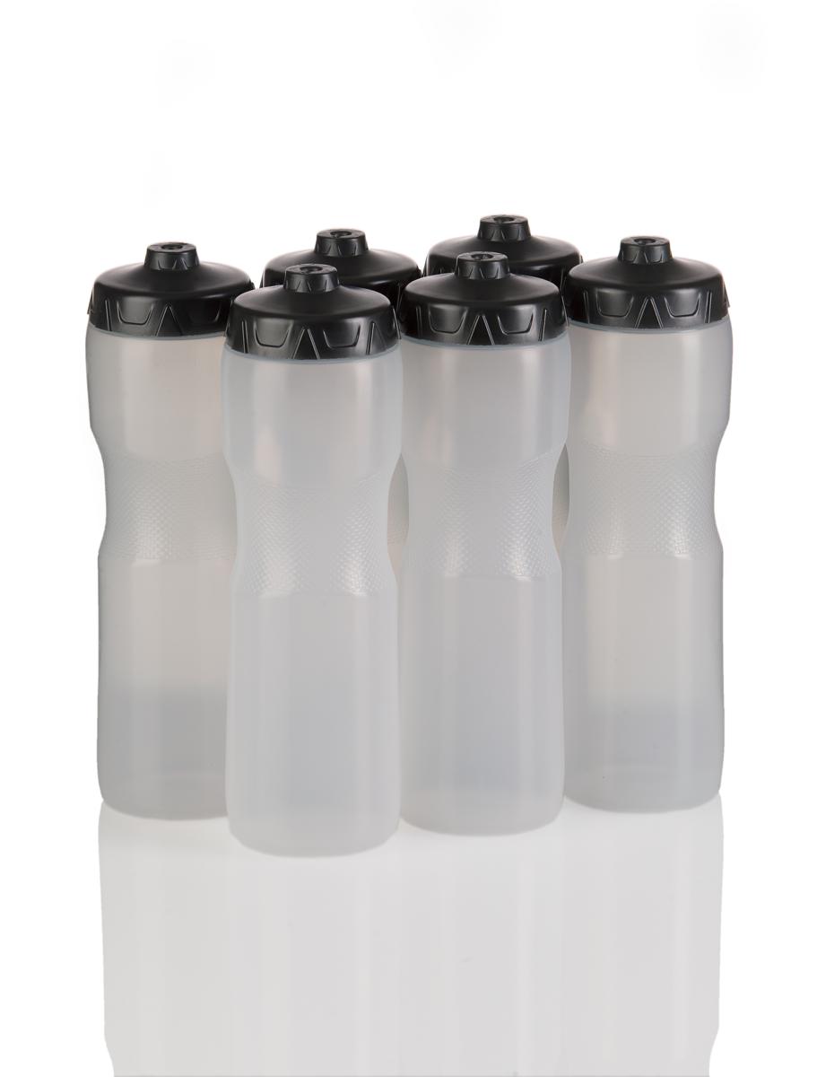 Nalgene Wide Mouth 16oz BPA Free HDPE Water Bottle Natural w//Blue Lid 2-Pack
