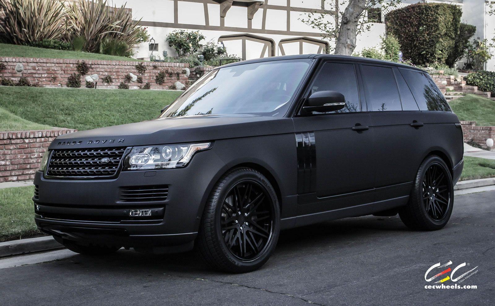 Range Rover Matt Black - Google Zoeken