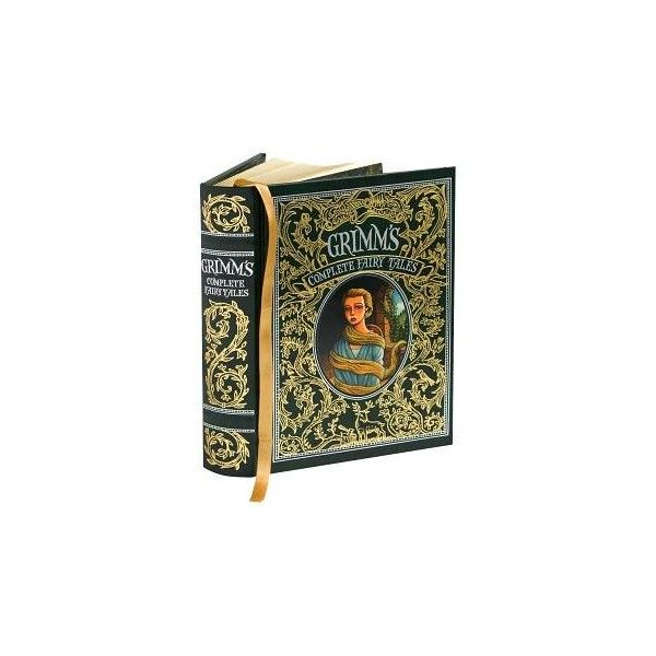 Grimm's Complete Fairy Tales (Barnes & Noble Leatherbound Classics),... (255 ARS) ❤ liked on Polyvore featuring books, fillers, other and backgrounds