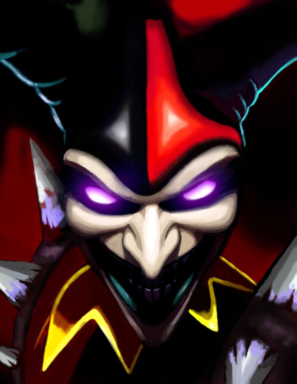 Shaco The Demon Jester League Of Legends By Cararacap Joker