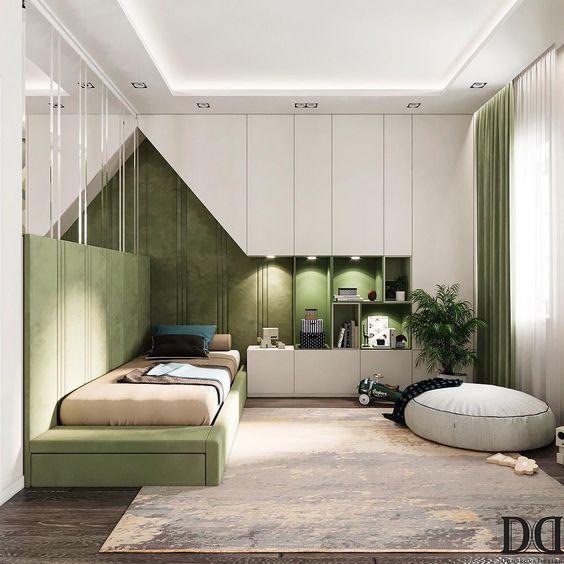 Kleiderschränke mit 35 Schlafzimmern sorgen für ein aufgeräumtes Zimmer