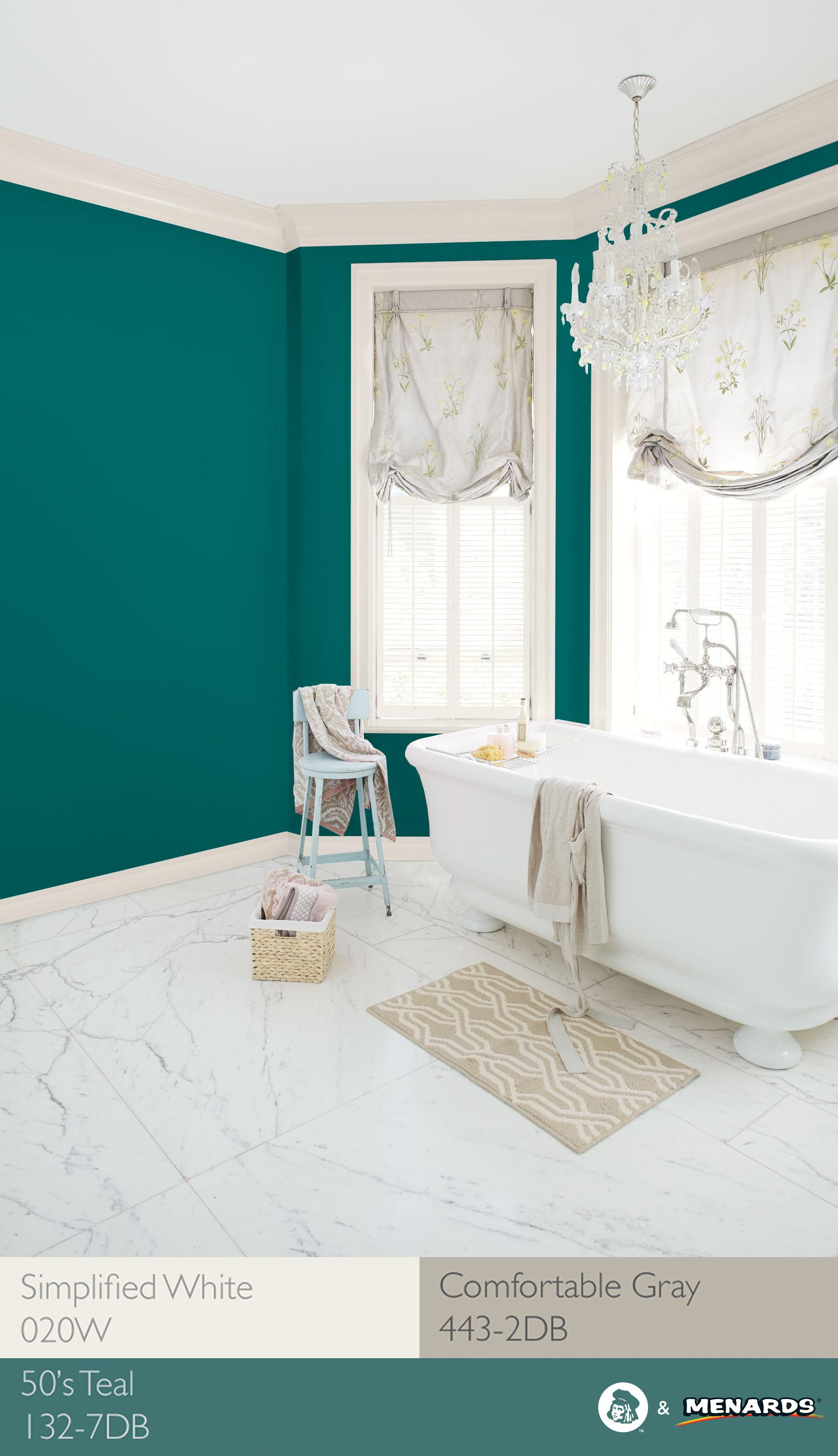 amazing relaxing bathroom paint colors   Keep summer alive in your space with a relaxing bathroom ...