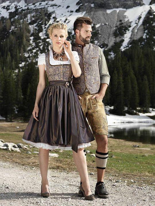 Donuts bavarian style dresses