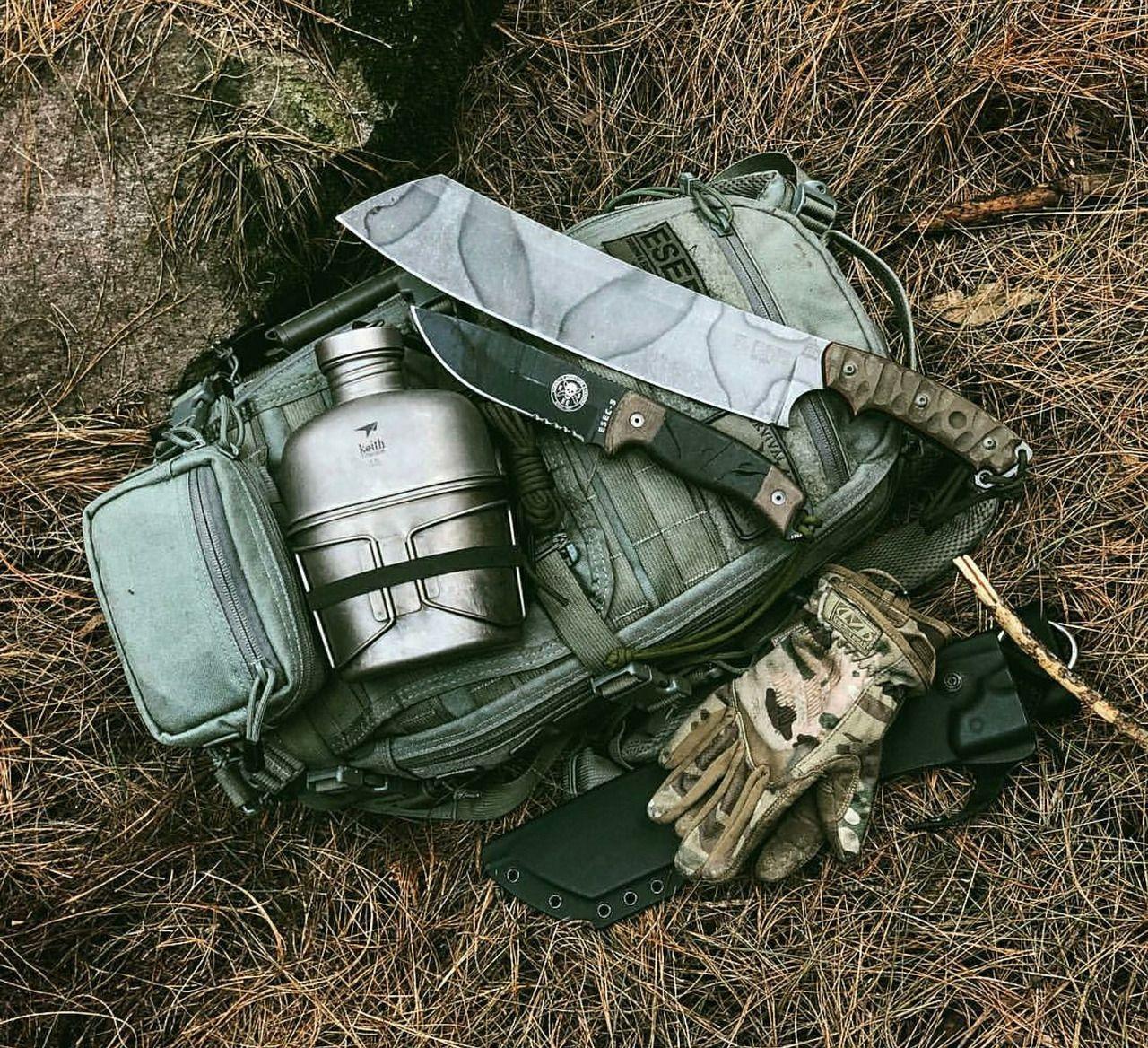 Bushcraft Survival Skills: Bushcraft Kit With The FAST Pack Litespeed...