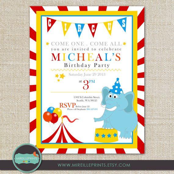 Digital birthday invitation card circus theme by mireilleprints digital birthday invitation card circus theme by mireilleprints 1200 filmwisefo