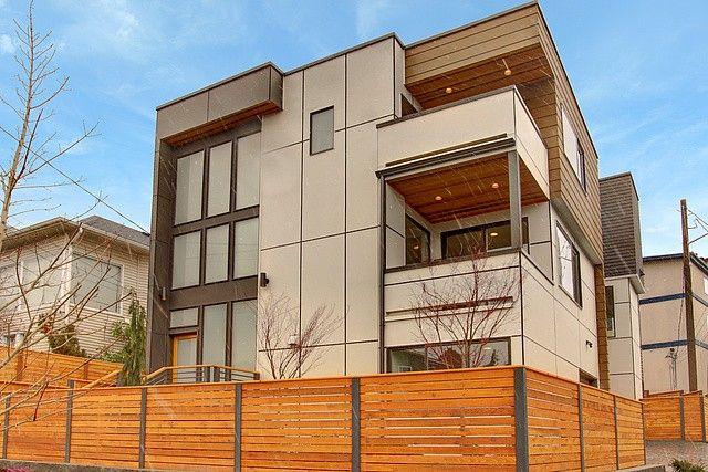 Contemporary Exterior Condo Design Ideas