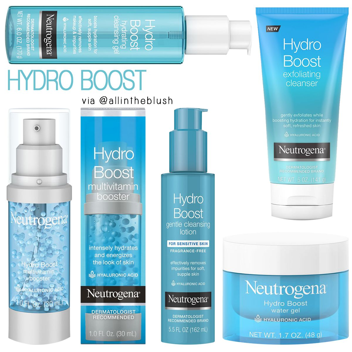 Is your Skin Dehydrated? Neutrogena's NEW Hydro Boost is