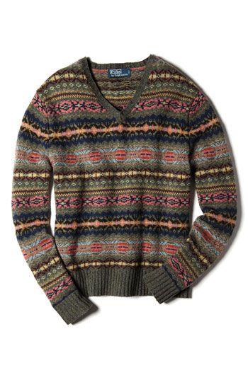 Polo Ralph Lauren Fair Isle Sweater | Nordstrom | Global ...