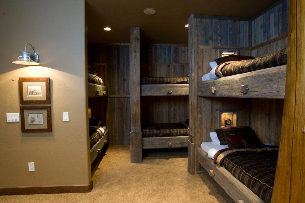 Inspired Low Bunk Beds Technique Denver Traditional Bedroom