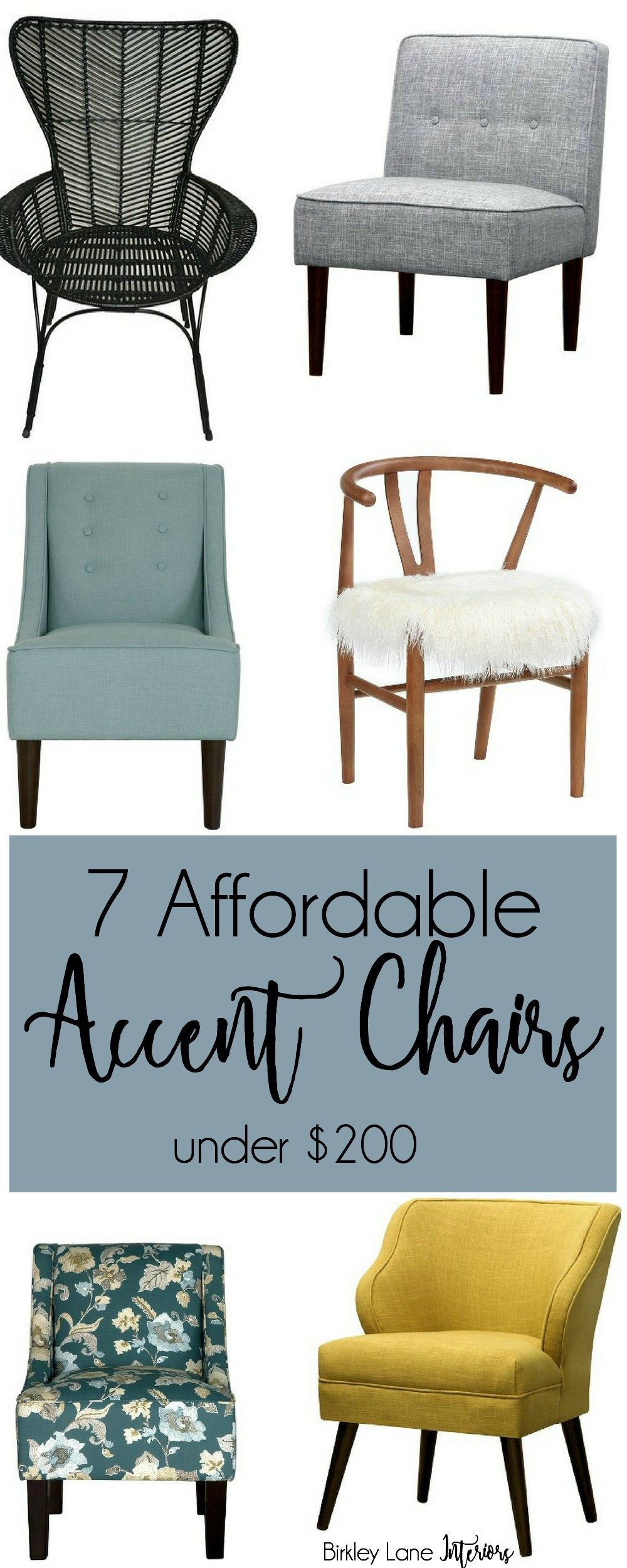 7 Affordable Accent Chairs Under 200 Accent Chairs For Living