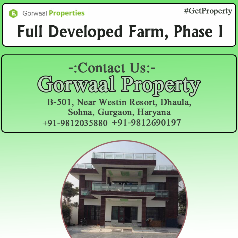 4 acre 3 bhk cottage FarmHouse full developed for sale
