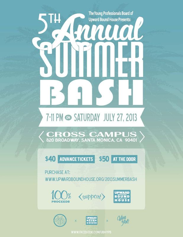 santa monica  ca please join us for the 5th annual summer bash  hosted by the young