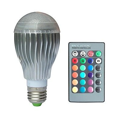 16 89 Jiawen E27 10w Rgb Led Bulb Light With Remote Controller Ac 100 220v Rgb Led Led Bulb Bulb